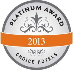 Choice Hotels International Inc Platinum Award