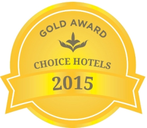 Comfort Suites 2015 Gold Award by Choice Hotels