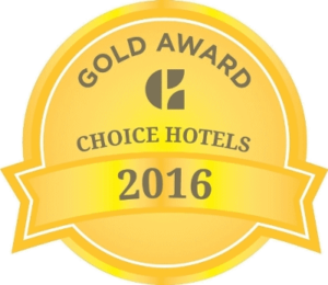 Comfort Suites 2016 Gold Award by Choice Hotels