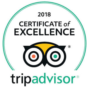 Holiday Inn Alexandria, Best Western & Comfort Suites Natchitoches 2018 Winners TripAdvisor Certificate of Excellence