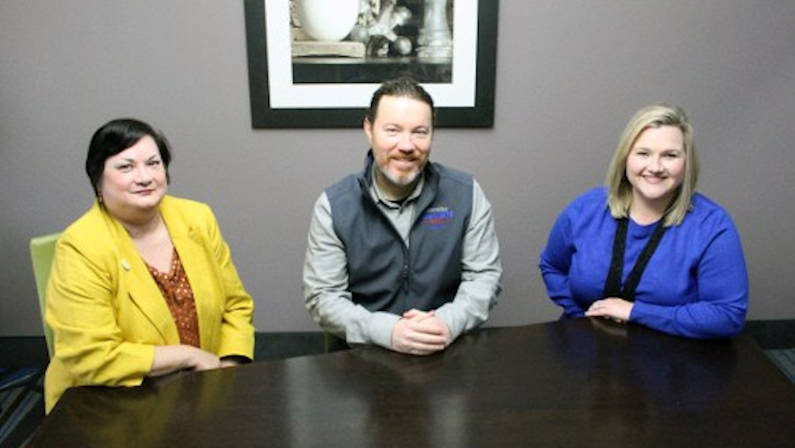 Arlene Gould, Jay Sharplin, and Rebecca Blankenbaker are returning to the Louisiana Travel Association's Board of Directors in 2021.
